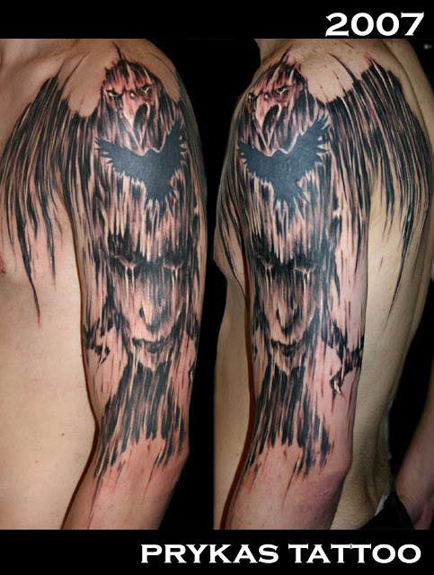 prykas tattoo kruka twarz